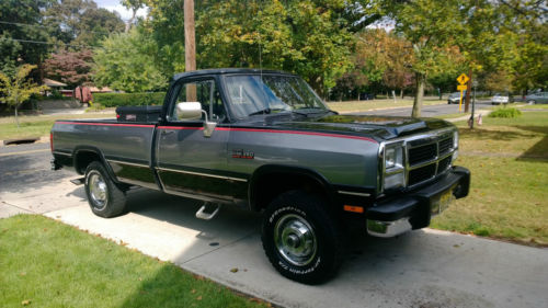 1991 Dodge W250 4x4 Le | eBay