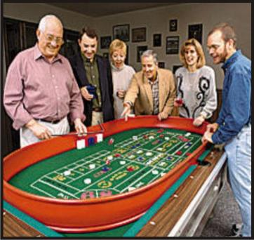 Homemade craps table for sale